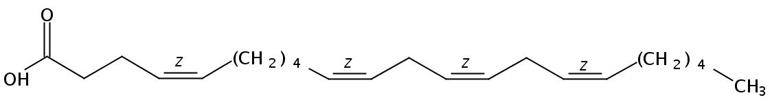 4(Z),10(Z),13(Z),16(Z)-Docosatetraenoic acid