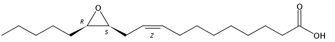 12(S),13(R)-Epoxy-9(Z)-octadecenoic acid