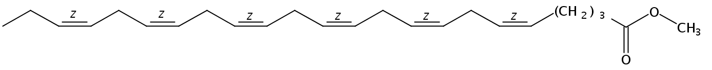 Methyl 5(Z),8(Z),11(Z),14(Z),17(Z),20(Z)-Tricosahexaenoate