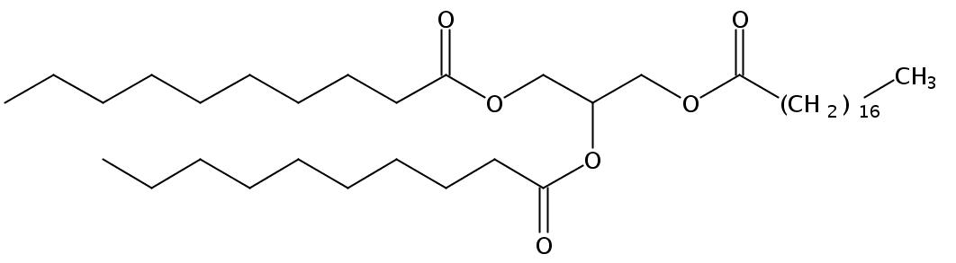 1,2-Caprin-3-Stearin