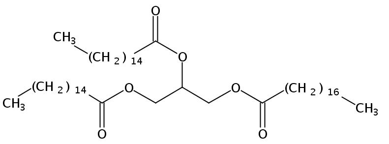 1,2-Palmitin-3-Stearin