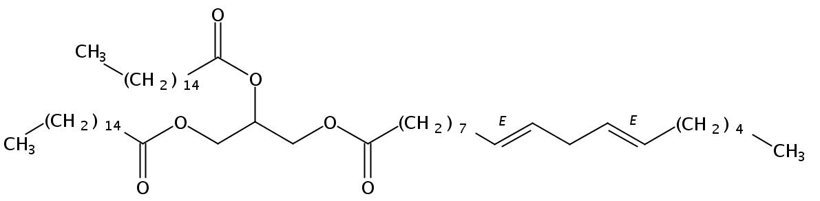 1,2-Palmitin-3-Linoelaidin