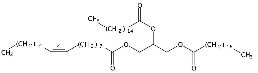 1-Stearin-2-Palmitin-3-Olein