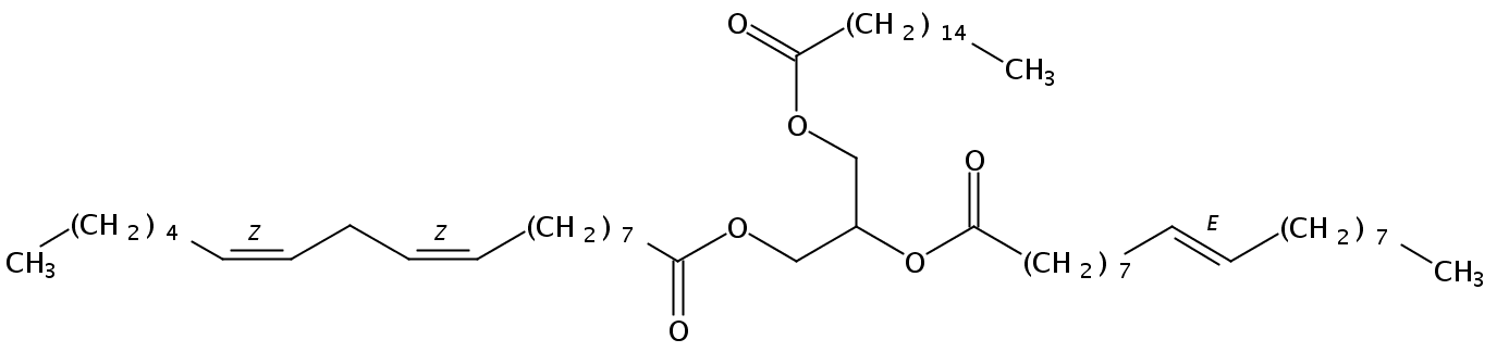 1-Palmitin-2-Elaidin-3-Linolein