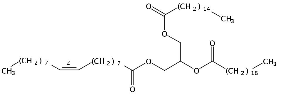 1-Palmitin-2-Arachidin-3-Olein