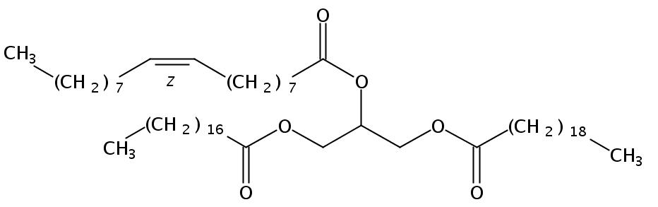 1-Arachidin-2-Olein-3-Stearin