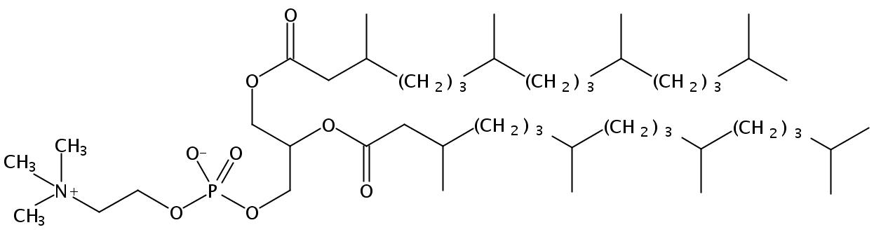 1,2-Diphytanoyl-sn-Glycero-3-Phosphatidylcholine