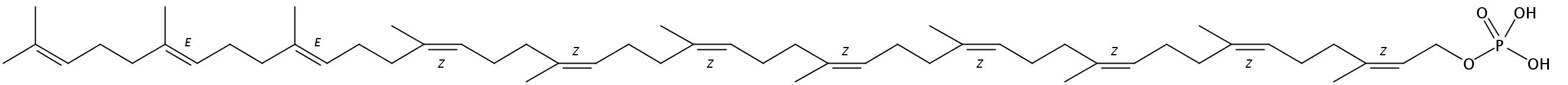 Undecaprenyl-MPDA monophosphate (NH4+)2