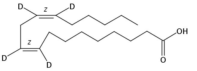 Linoleic-9,10,12,13-D4 acid