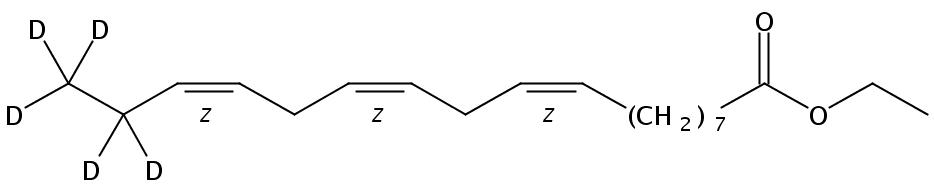 Linolenic -17,17,18,18,18-D5 acid