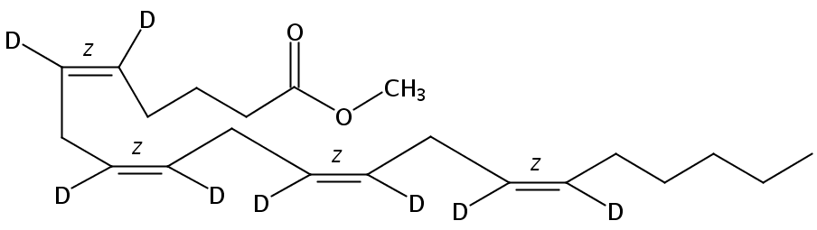 Methyl arachidonate-5,6,8,9,11,12,14,15-D8