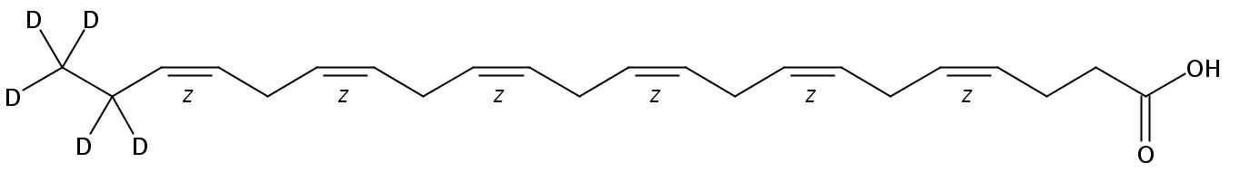 Docosahexaenoic-21,21,22,22,22-D5 acid