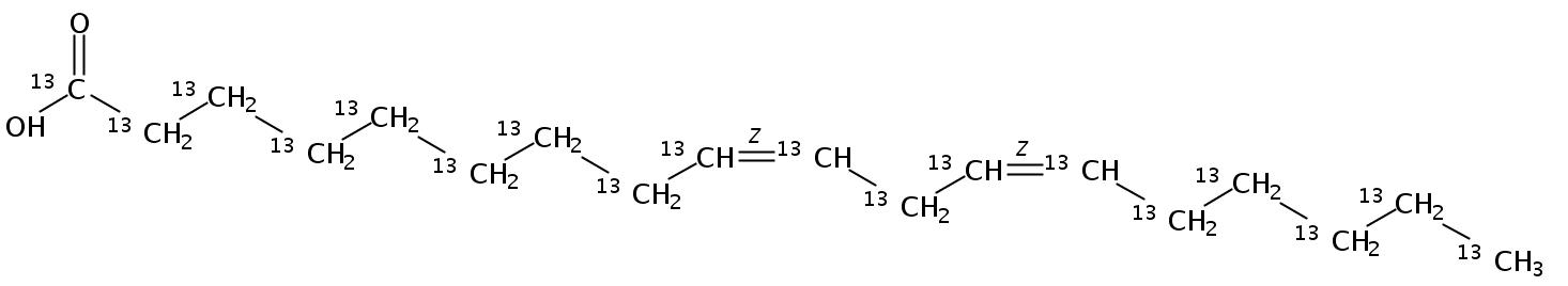Linoleic acid-UL-13C18