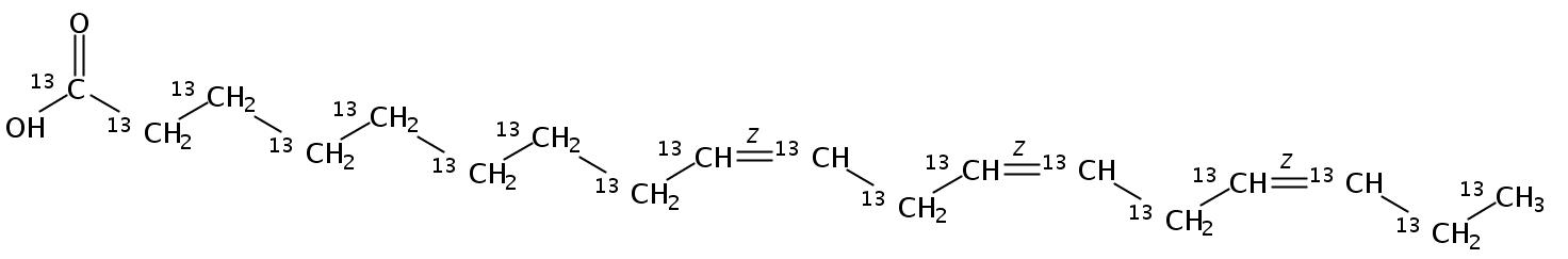 Linolenic acid-UL-13C18