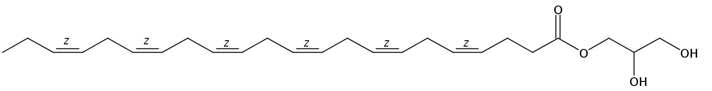 1-Monodocosahexaenoin