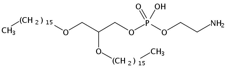 1,2-Di-O-Hexadecyl-sn-Glycero-3-Phosphatidylethanolamine