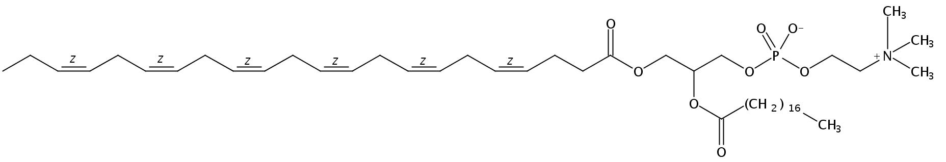 1-Docosahexaenoyl-2-Stearoyl-sn-Glycero-3-Phosphatidylcholine
