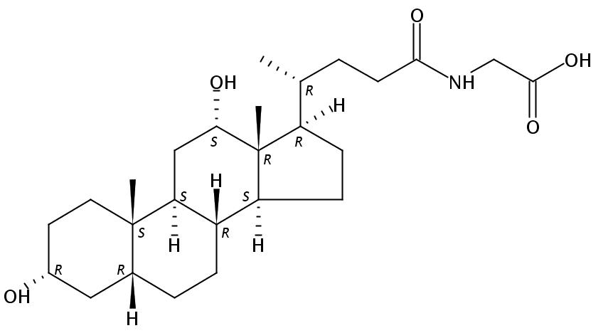 Glycodeoxycholic acid