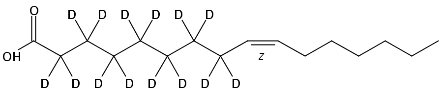 Palmitoleic-2,2,3,3,4,4,5,5,6,6,7,7,8,8-D14 acid