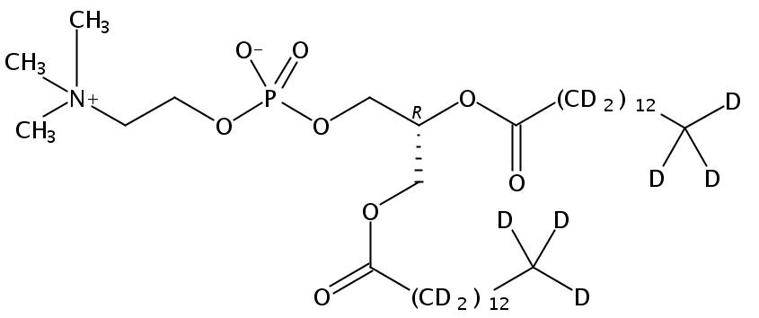 1,2-Dimyristoyl-D54-3-sn-Glycerophosphatidylcholine