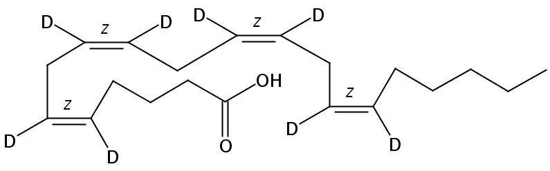 arachidonic-5,6,8,9,11,12,14,15-D8 acid