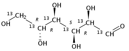 D-Glucose (U-13C6 99%; D7 98%)