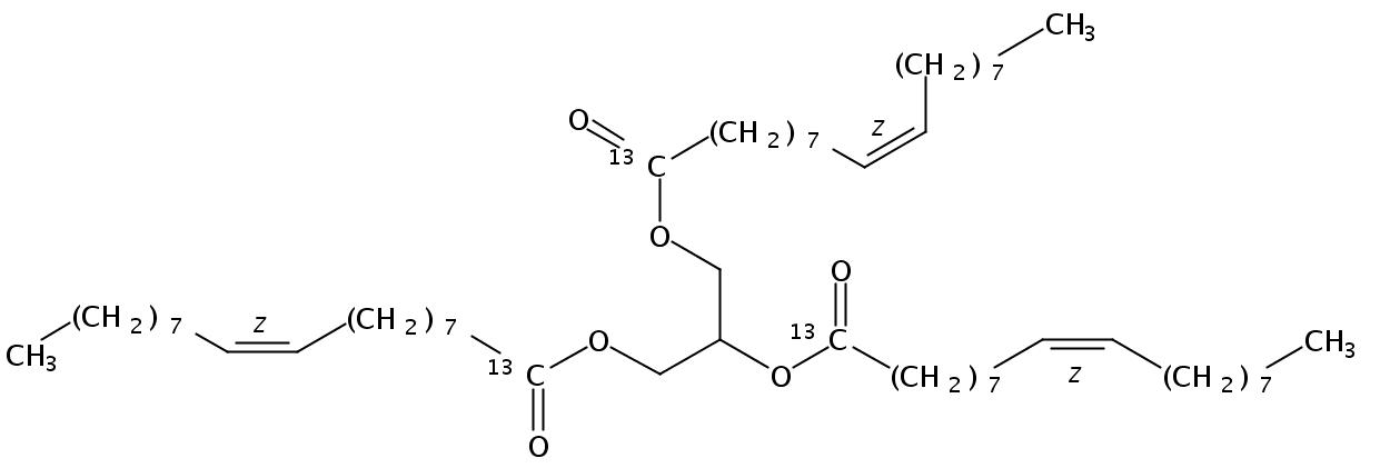 Triolein (Glycerol 13C3, 13C 99%)