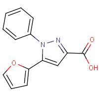 5-(Fur-2-yl)-1-phenyl-1H-pyrazole-3-carboxylic acid