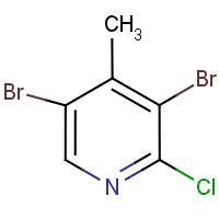 2-Chloro-3,5-dibromo-4-methylpyridine