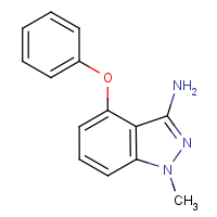 3-Amino-1-methyl-4-phenoxy-1H-indazole