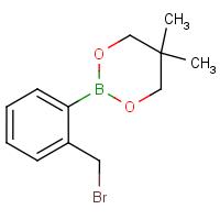 2-[2-(Bromomethyl)phenyl]-5,5-dimethyl-1,3,2-dioxaborinane