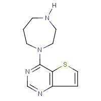 4-Homopiperazinothieno[3,2-d]pyrimidine