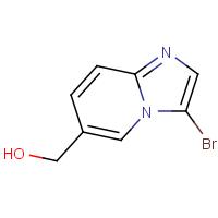 (3-Bromoimidazo[1,2-a]pyridin-6-yl)methanol