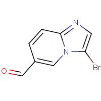 3-Bromoimidazo[1,2-a]pyridine-6-carboxaldehyde