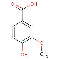 4-Hydroxy-3-methoxybenzoic acid
