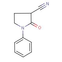 2-Oxo-1-phenylpyrrolidine-3-carbonitrile