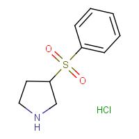 3-(Phenylsulphonyl)pyrrolidine hydrochloride