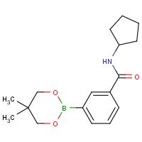N-Cyclopentyl-3-(5,5-dimethyl-1,3,2-dioxaborinan-2-yl)benzamide