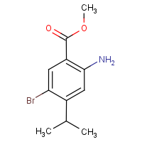 Methyl 2-amino-5-bromo-4-isopropylbenzoate