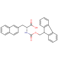 3-Naphth-2-yl-D-alanine, N-FMOC protected