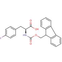 4-Iodo-L-phenylalanine, N-FMOC protected