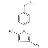 4-(3,5-Dimethyl-1H-pyrazol-1-yl)benzylamine