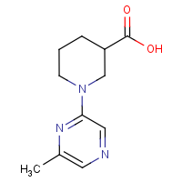 1-(6-Methylpyrazin-2-yl)piperidine-3-carboxylic acid