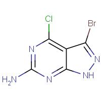6-Amino-3-bromo-4-chloro-1H-pyrazolo[3,4-d]pyrimidine