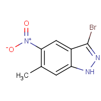 3-Bromo-6-methyl-5-nitro-1H-indazole