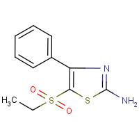 2-Amino-5-(ethylsulphonyl)-4-phenyl-1,3-thiazole