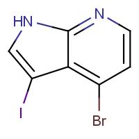 4-Bromo-3-iodo-1H-pyrrolo[2,3-b]pyridine 95+%