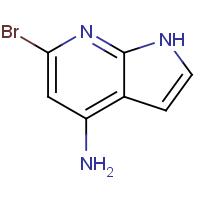 6-Bromo-1H-pyrrolo[2,3-b]pyridin-4-amine