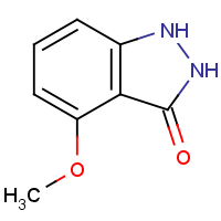 4-Methoxy-1,2-dihydro-3H-indazol-3-one