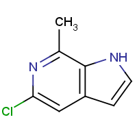 5-Chloro-7-methyl-1H-pyrrolo[2,3-c]pyridine